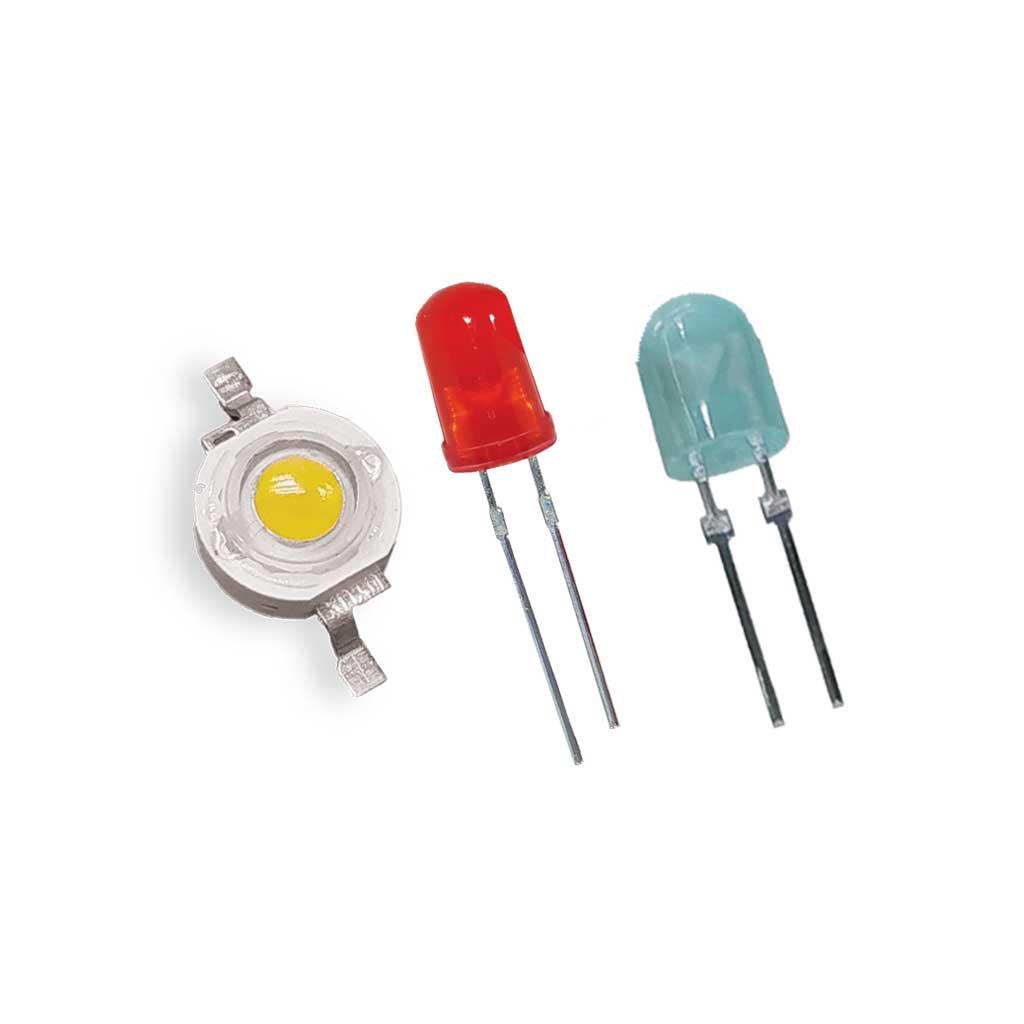 LED خود رنگ و اوال