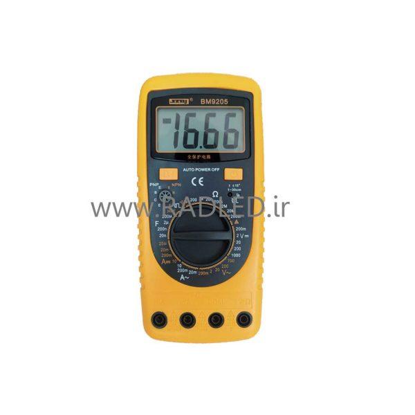 مولتی متر دیجیتال BM9205